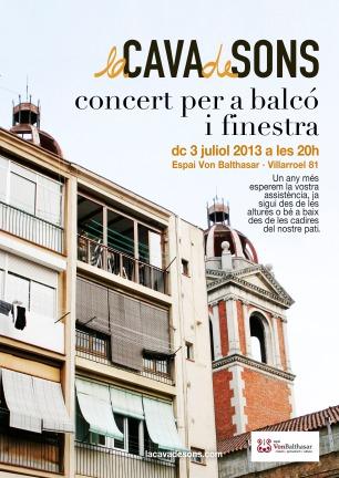 Concert per a Balcó i Finestra (2013)