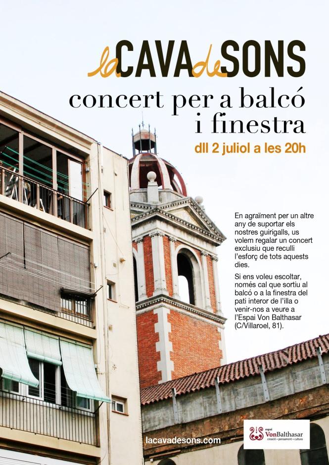 Concert balcó i finestra 2012