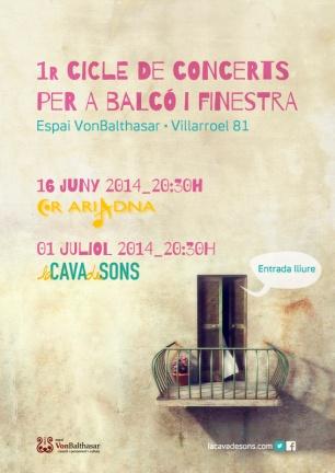 1r Cicle per a Balcó i Finestra (2014)