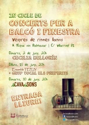2n Cicle per a Balcó i Finestra (2015)